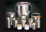 Round Tinplate Cans for Lubricants