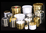Tinplate Cans and Pails for Paints and Chemicals